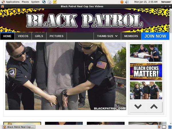Black Patrol Free Id