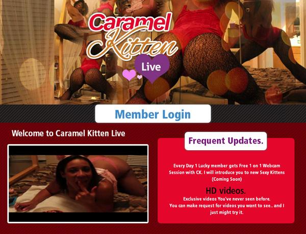 Caramel Kitten Live Free Passwords