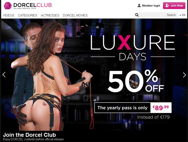 Password Dorcelclub.com