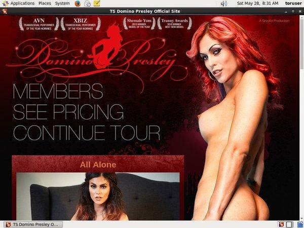TS Domino Presley Discount Link