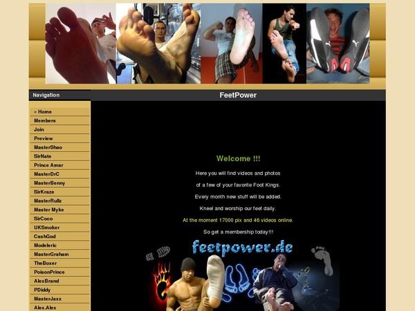 Feetpower.de Discount Pass