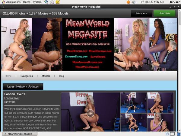 Meanworld.com Network Discount