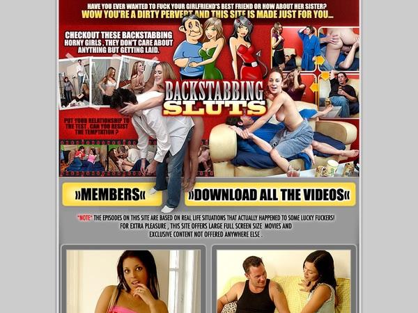 Discount Back Stabbing Sluts Promotion